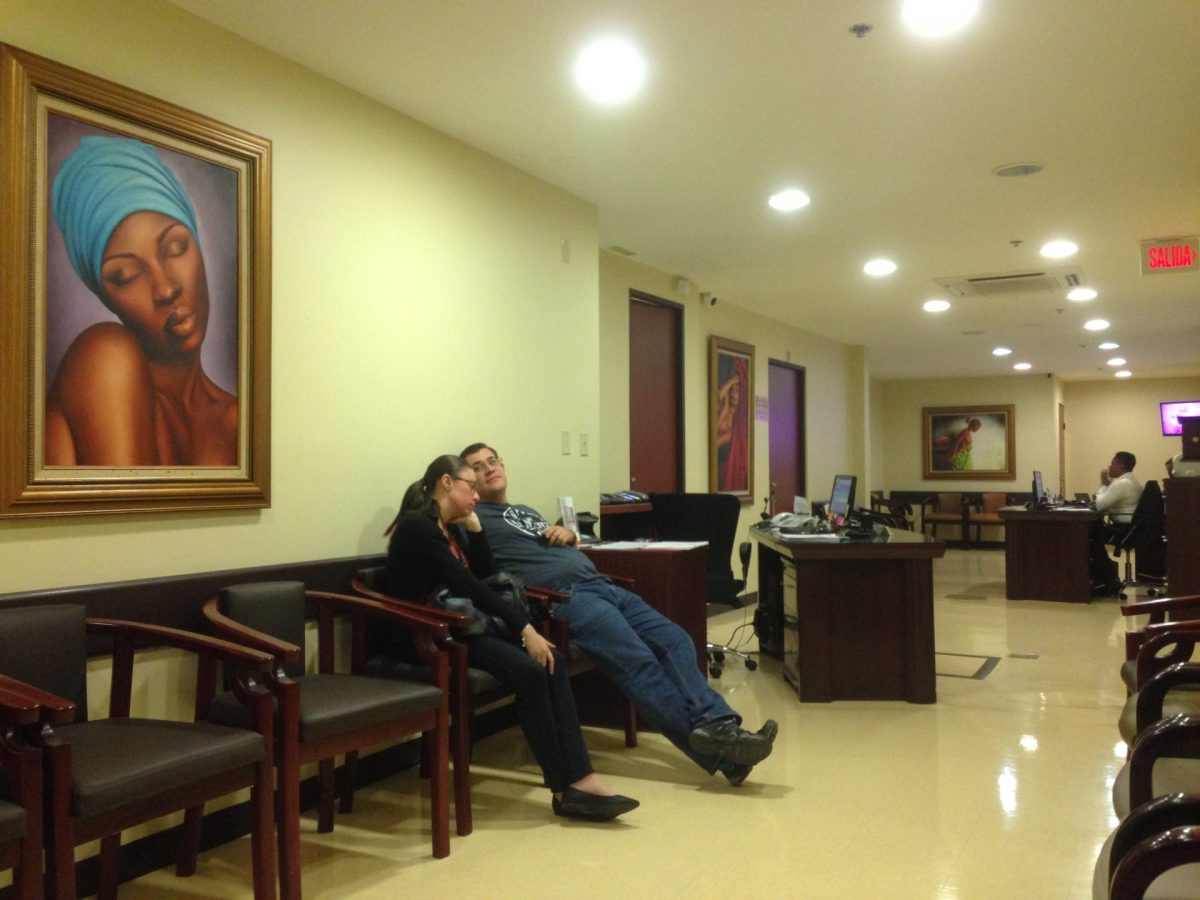 Inside Hospital La Catolica, one of the best private hospitals in Costa Rica