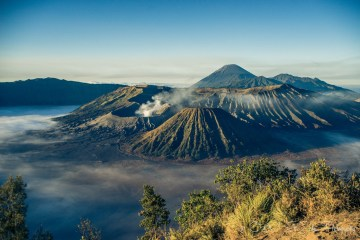 Max & Oksana at Mt Bromo at sunrise. East Java, Indonesia