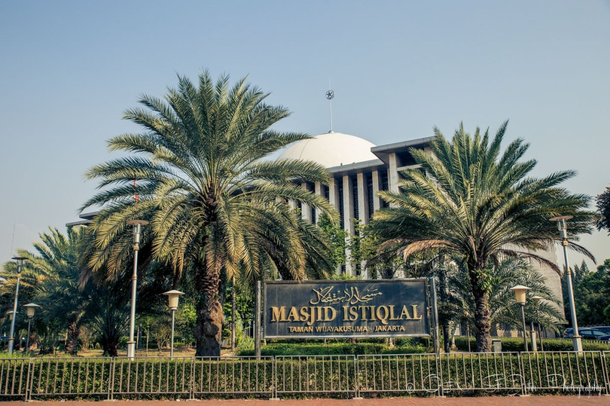 Istiqlal Mosque, Jakarta, Java, INdonesia