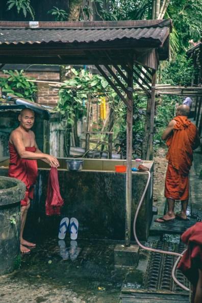 Myanmar Burmese Monk-9328