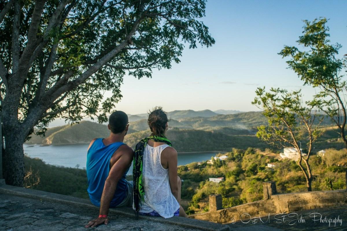 Max and Oksana in San Juan del Sur in Nicaragua
