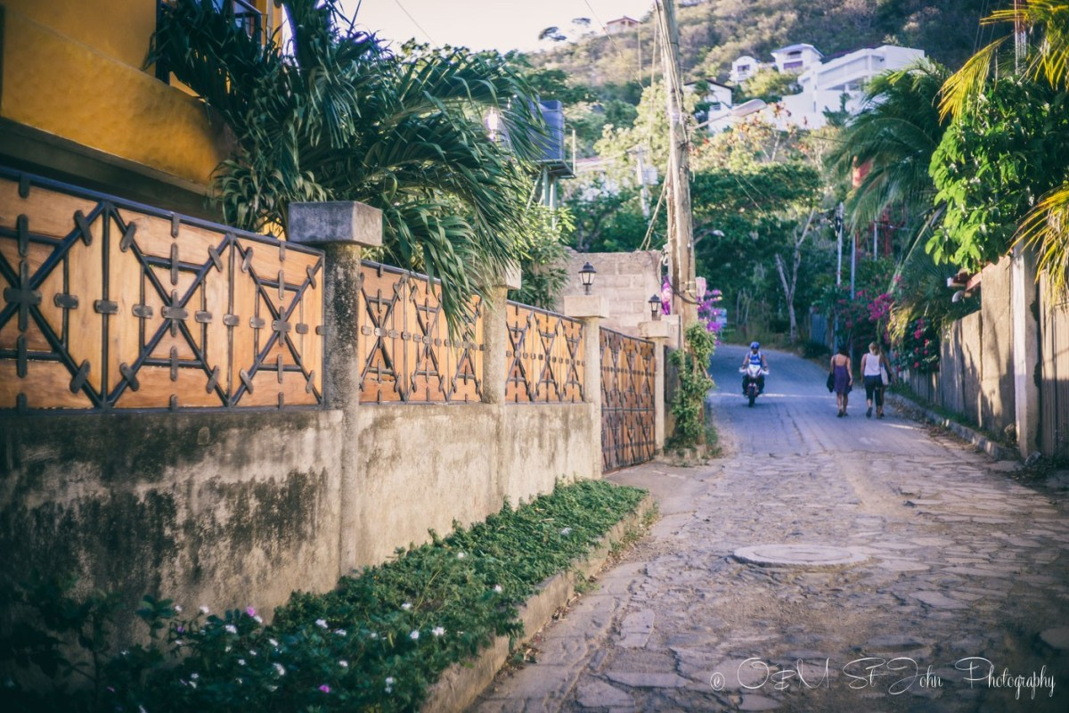 Road up to Christ of Mercy Statue. San Juan del Sur. Nicaragua