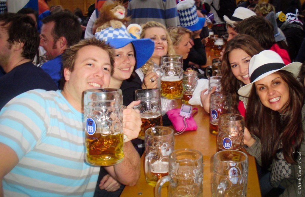 Friends at Oktoberfest 2008, Münich, Germany