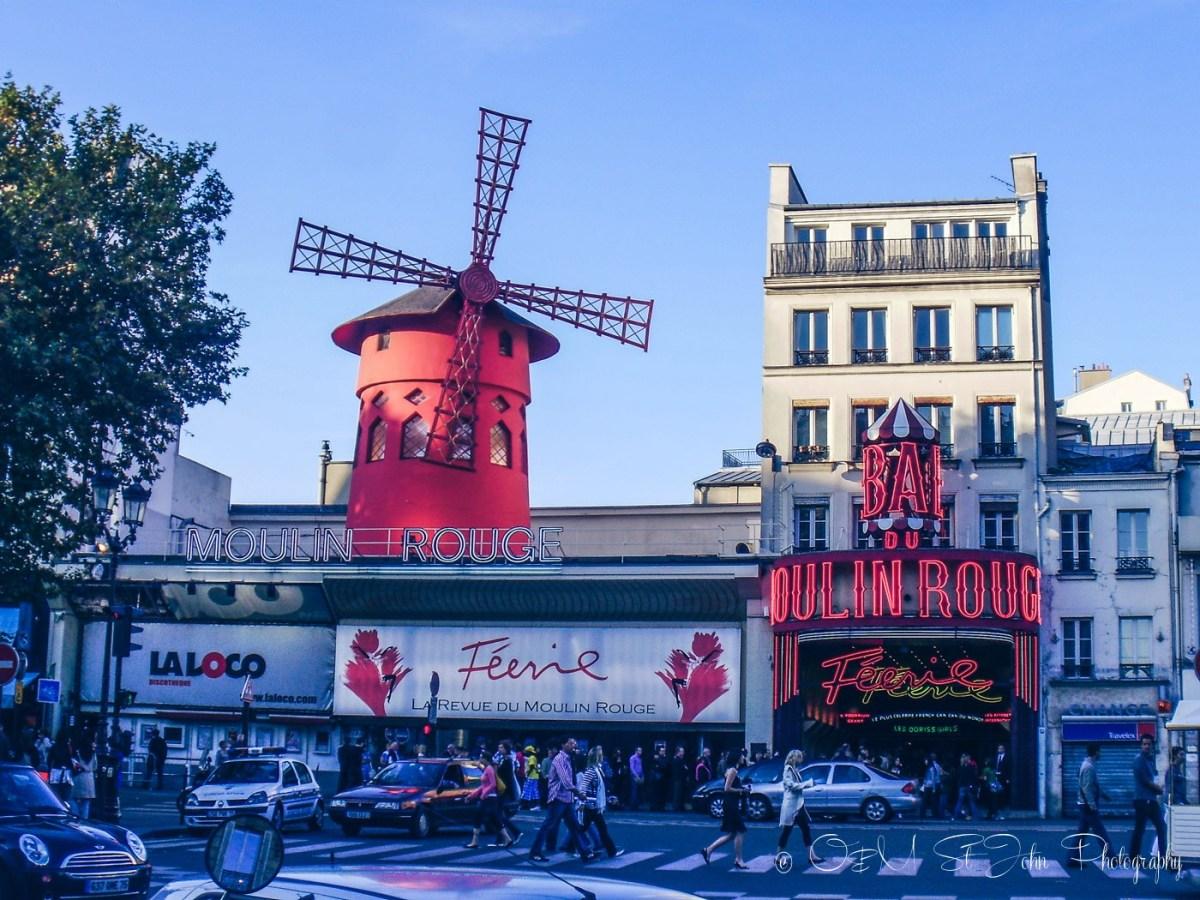 Moulin Rouge, Montmartre, Paris. France. Europe