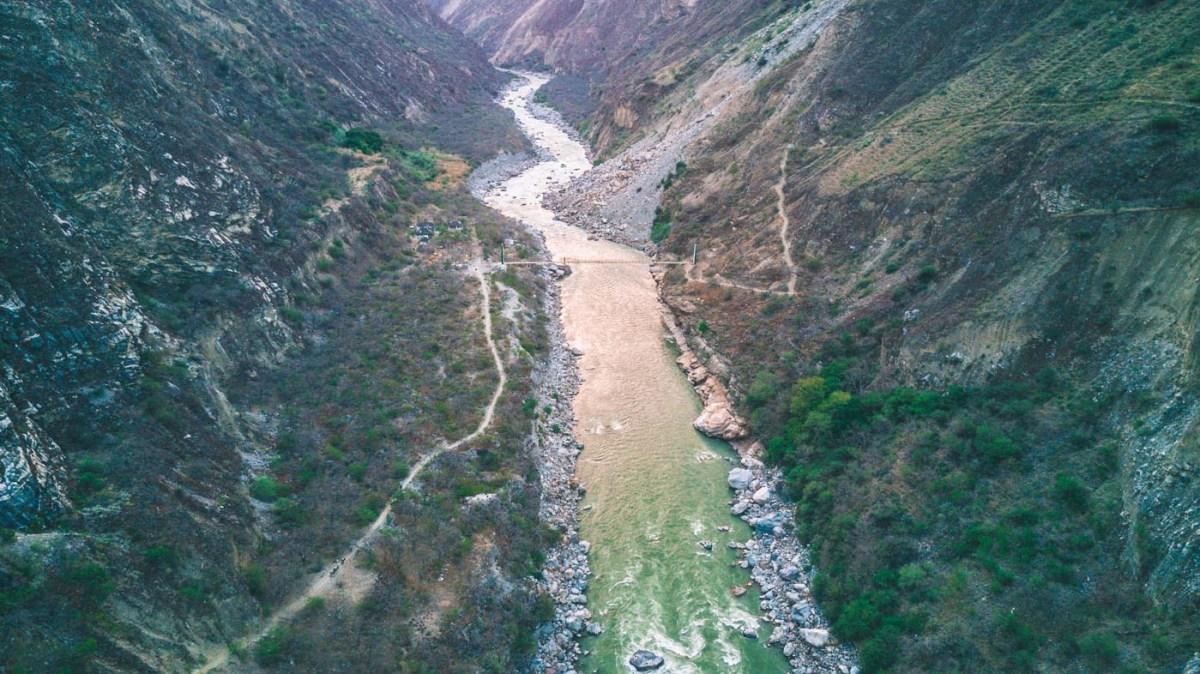 Apurimac Canyon en route to Choquequirao