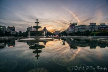 Bulevardul Unirii, Bucharest. Romania