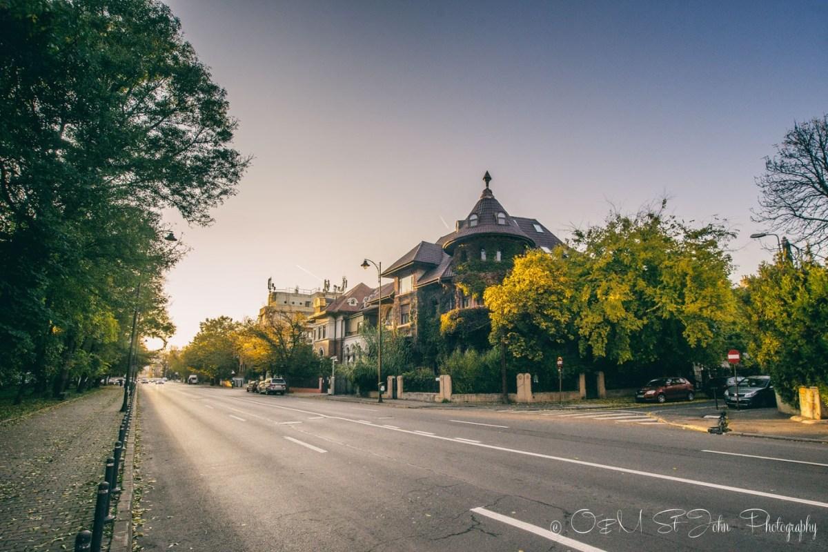 Dorobanti neighbourhood. Bucharest. Romania