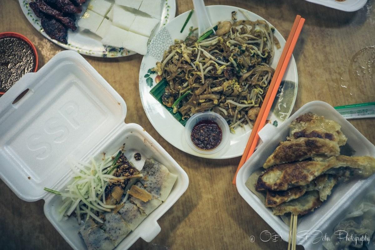 Delicious meal at Lido Square. Kota Kinabalu. Sabah. Malaysia
