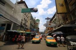 Thailand Bangkok. Khao San Road