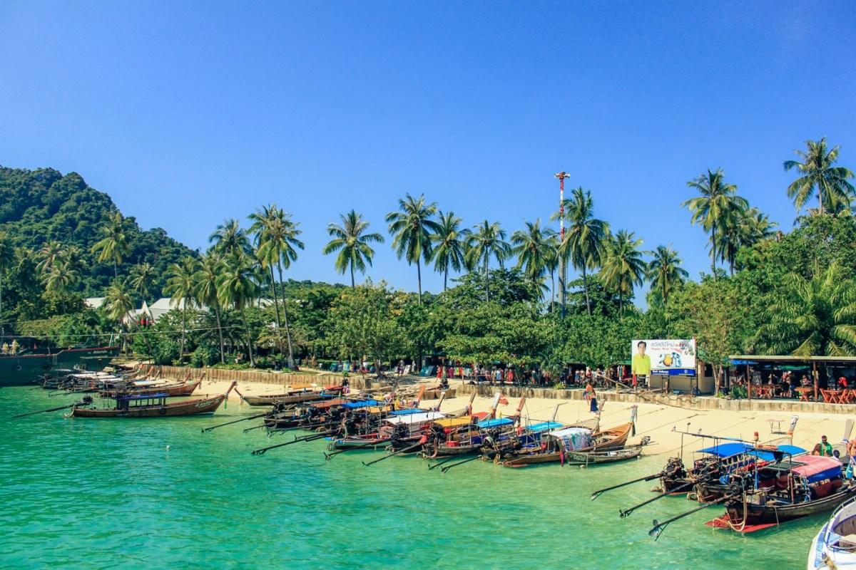 Beach in Thailand. Cover Photo