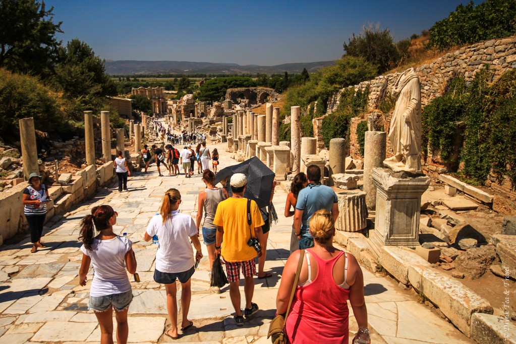Exploring Ephesus with Topdeck Group in Turkey