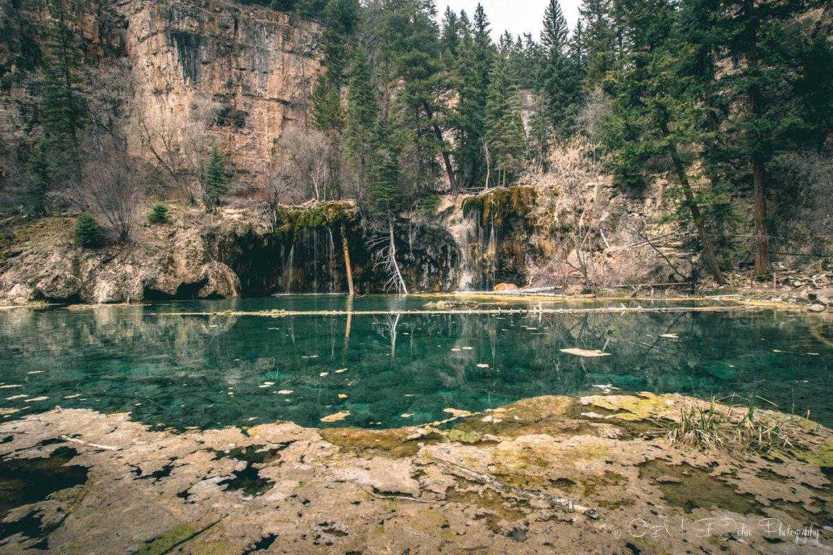 Colorado road trip: Hanging Lake, Colorado. USA