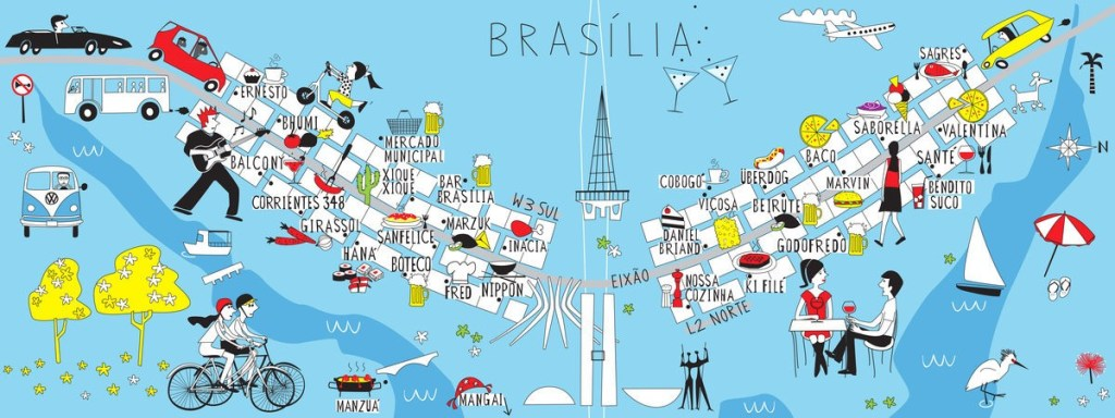 Eating and Drinking in Brasilia by Anna Mendes