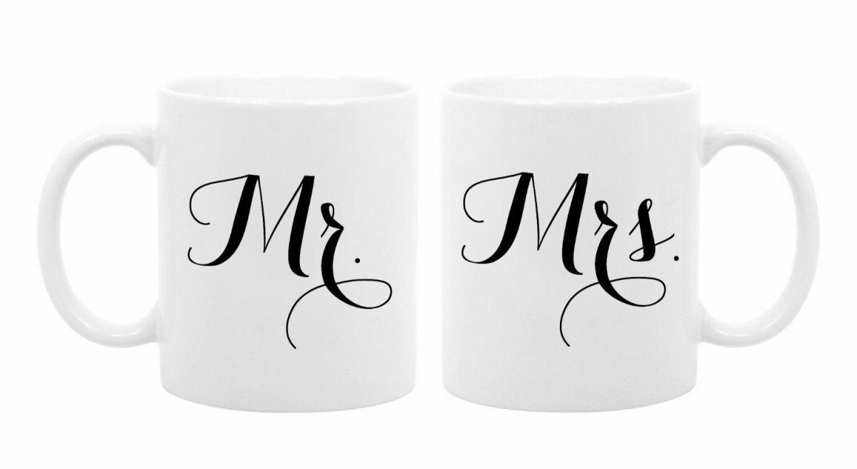 mrandmrs tea cups