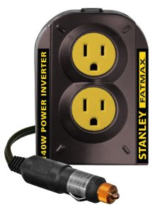Road Trip Accessories: Stanley 140W Power Inverter