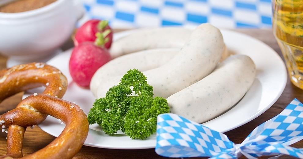 Weisswurst (Münich white sausage)