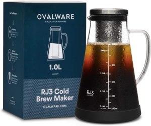 Cold Brew Coffee Maker RJ3 Ovalware