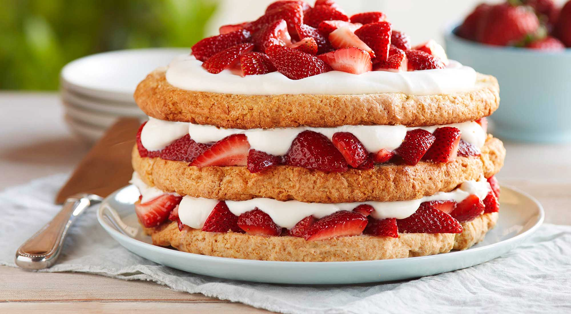 I Want Strawberry Shortcake