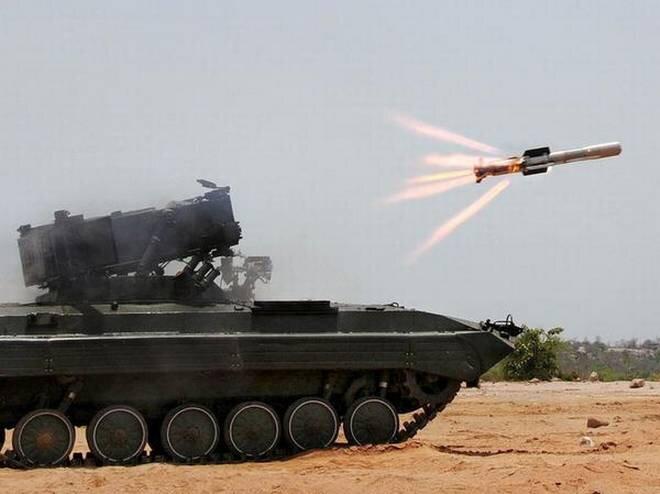 NAG Missile: Anti Tank Guided Missile