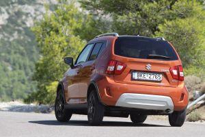 Δοκιμή κίνησης: Suzuki Ignis 1.2 Hybrid CVT