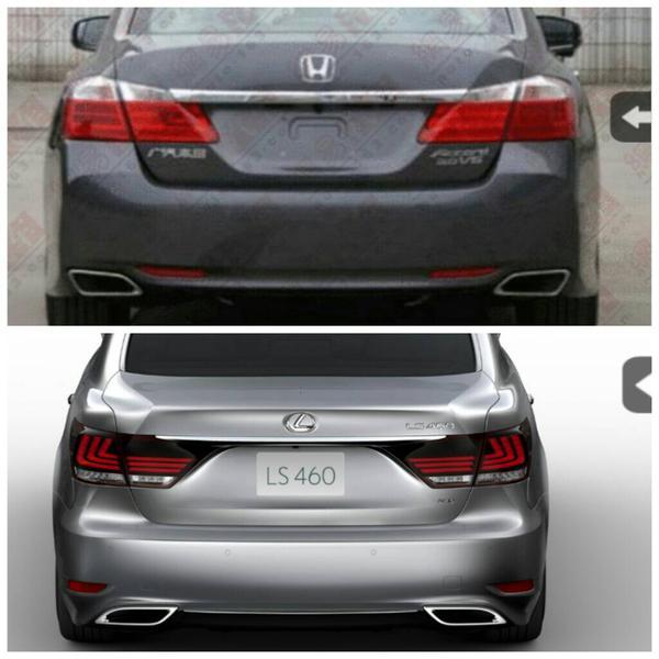accord sedan dual exhaust tips drive