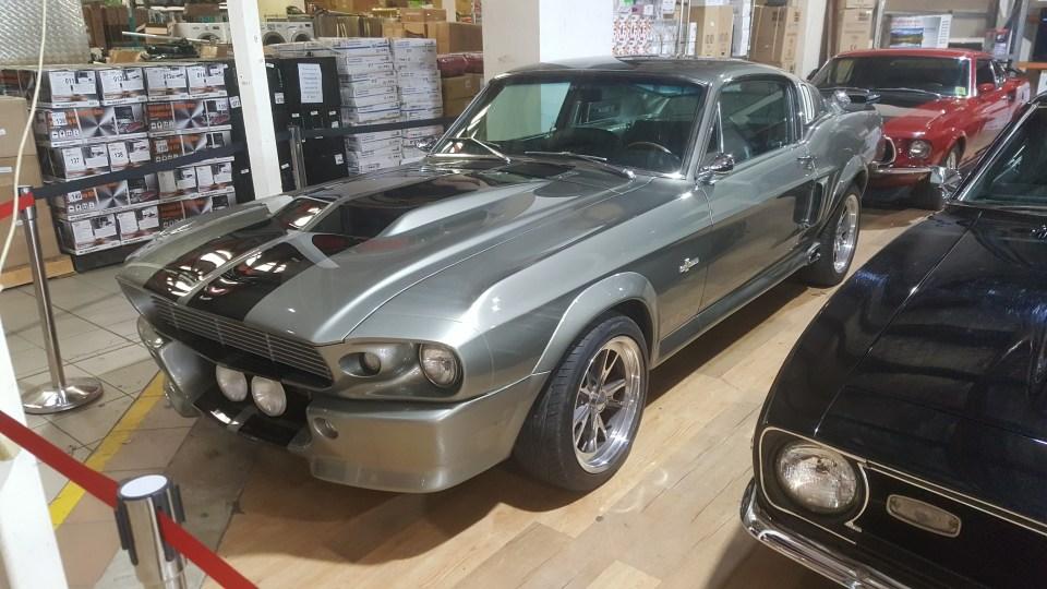 gt 500 car auctions