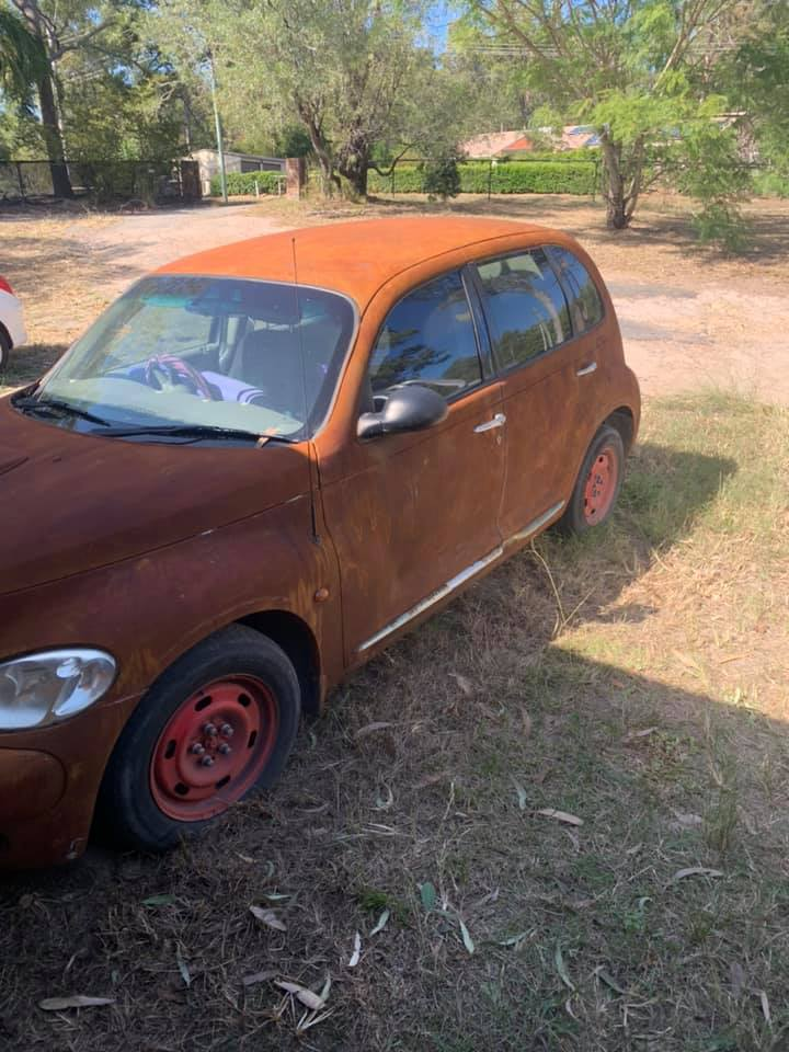 Rusted PT Cruiser
