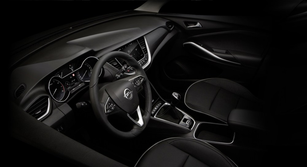 16.12.INTV. OPEL GRANDLAND X - Attractive: the interior of the new Opel Grandland X features a harmony of style and functionality.
