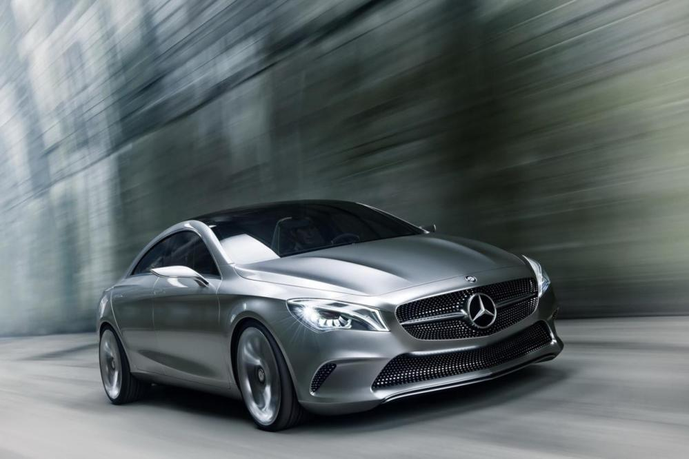 MERCEDES CONCEPT STYLE COUPE' - AD 2012 DRIVELIFE