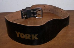 Typical belt seen at your local globogym.