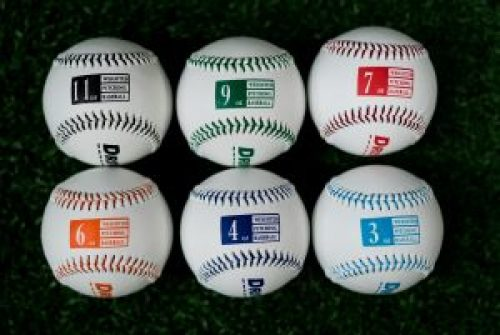 New leather weighted baseballs
