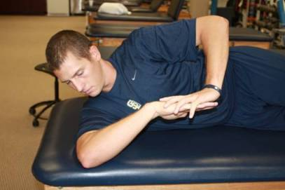 Sleeper Stretch