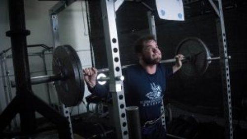 back squat strain