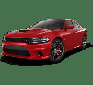 Red Dodge SRT