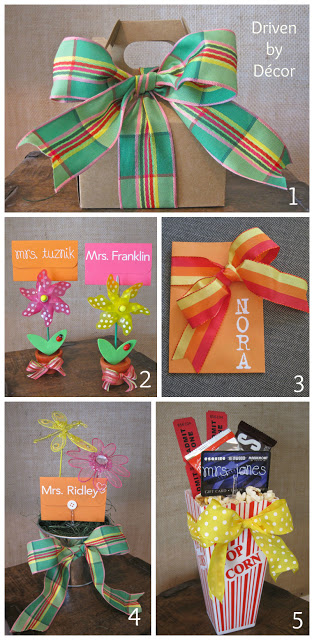 Teacher Amp Graduation Gifts Simple Ways To Dress Up A Gift