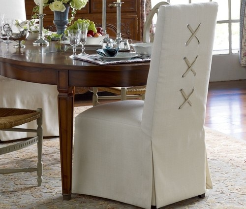 Dress Up Your Dining Chairs With Unique Slipcovers Driven By Decor