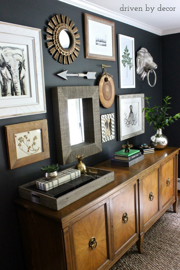 My Home Office Gallery Wall Reveal & Tips   Driven by Decor on Wall Decoration Ideas At Home  id=77821