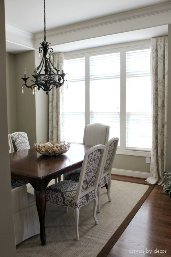 Window Treatments for Those Tricky Windows | Driven by Decor on Dining Room Curtains  id=63993