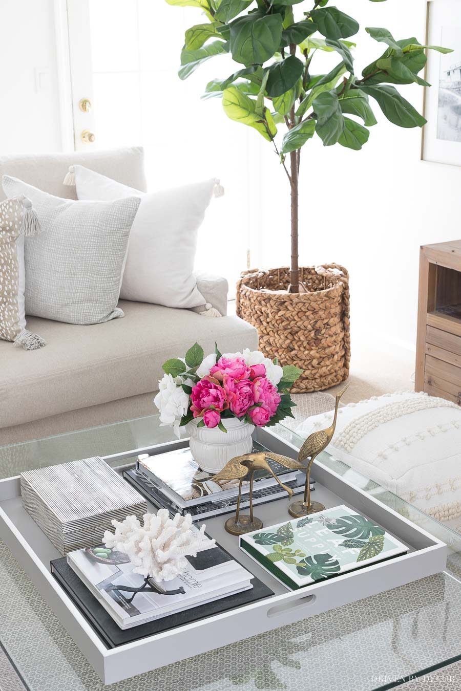 Coffee Table Decor: Ideas & Inspiration | Driven by Decor on Coffee Table Inspiration  id=18405