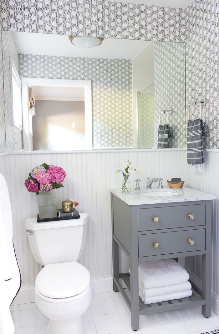 "Our Small Guest Bathroom Makeover: The ""Before"" and ""After ... on Small Bathroom Renovations  id=78167"