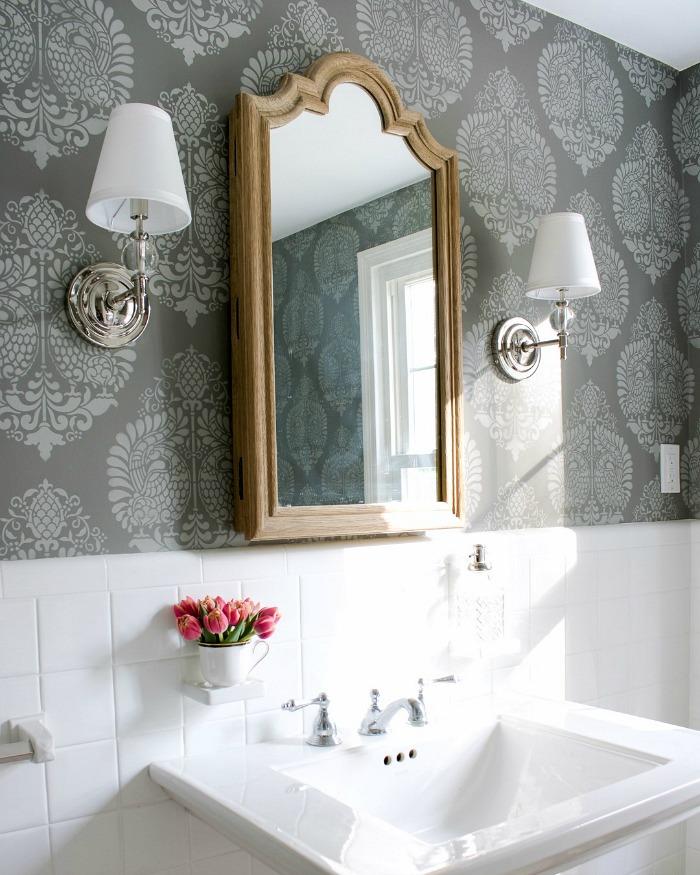 Decorating a Small Bathroom: Ideas & Inspiration for ... on Small Space Small Bathroom Ideas Pinterest id=27261