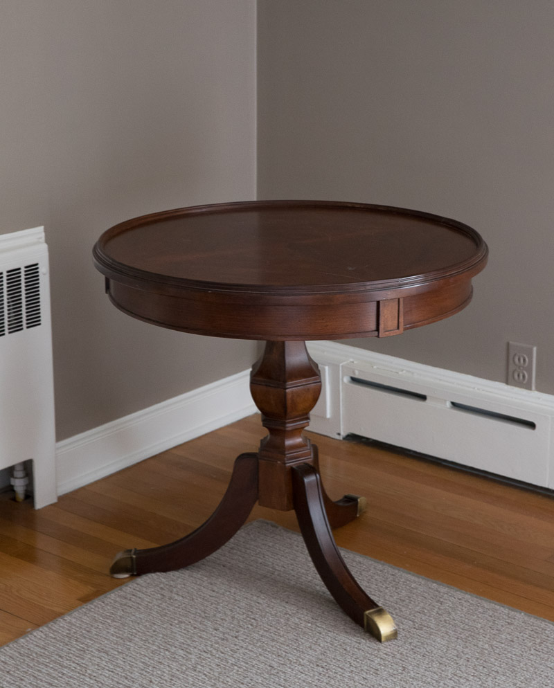 refinishing a table how i brought my