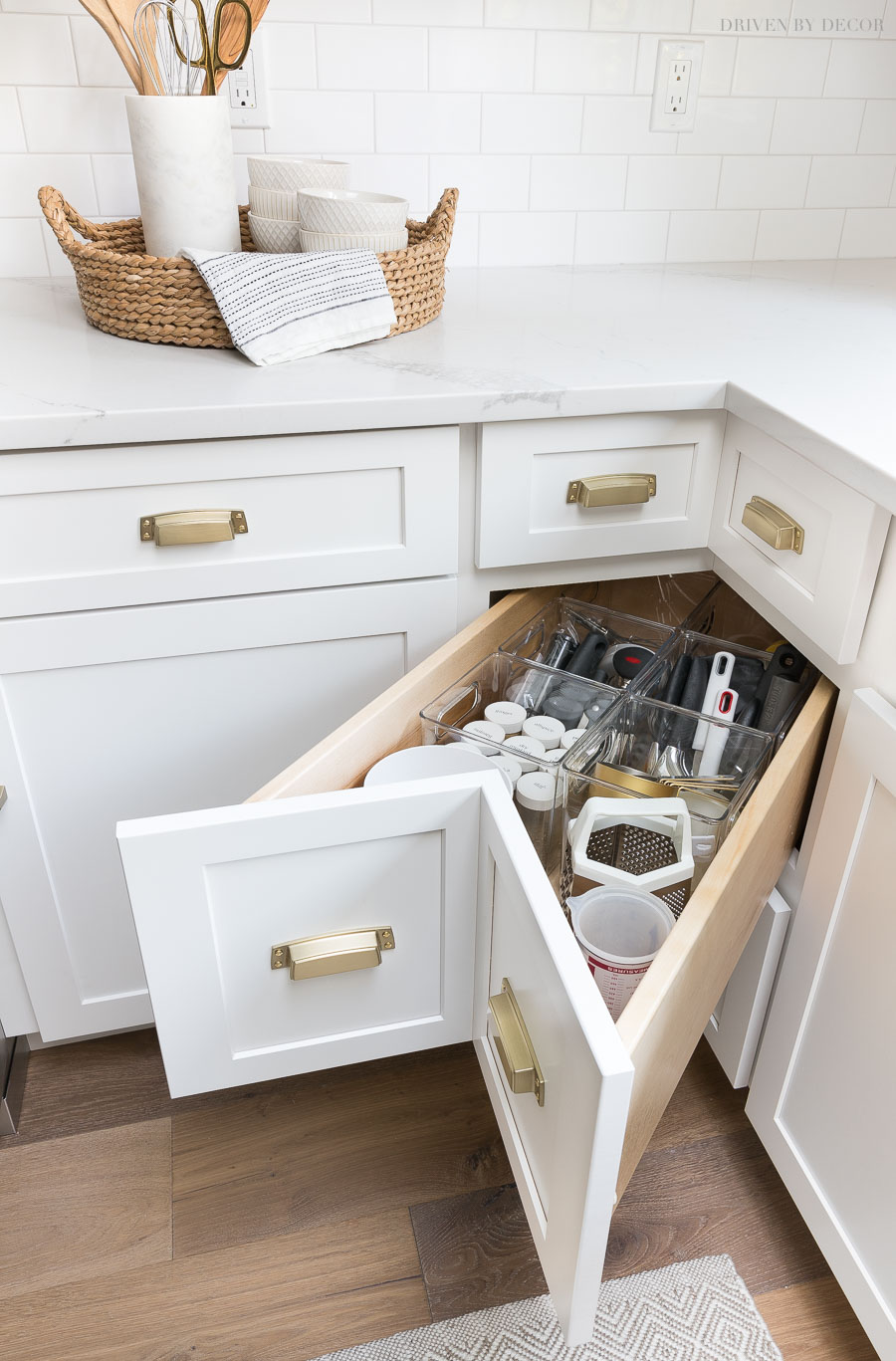 Cabinet Storage Amp Organization Ideas From Our New Kitchen