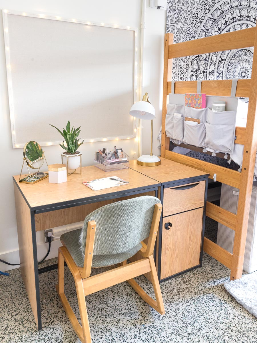 Dorm Room Ideas For Girls From Our Before After Dorm Room Makeover Driven By Decor