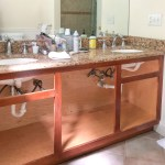 Our Painted Bathroom Vanity The Before After And How To Guide Driven By Decor