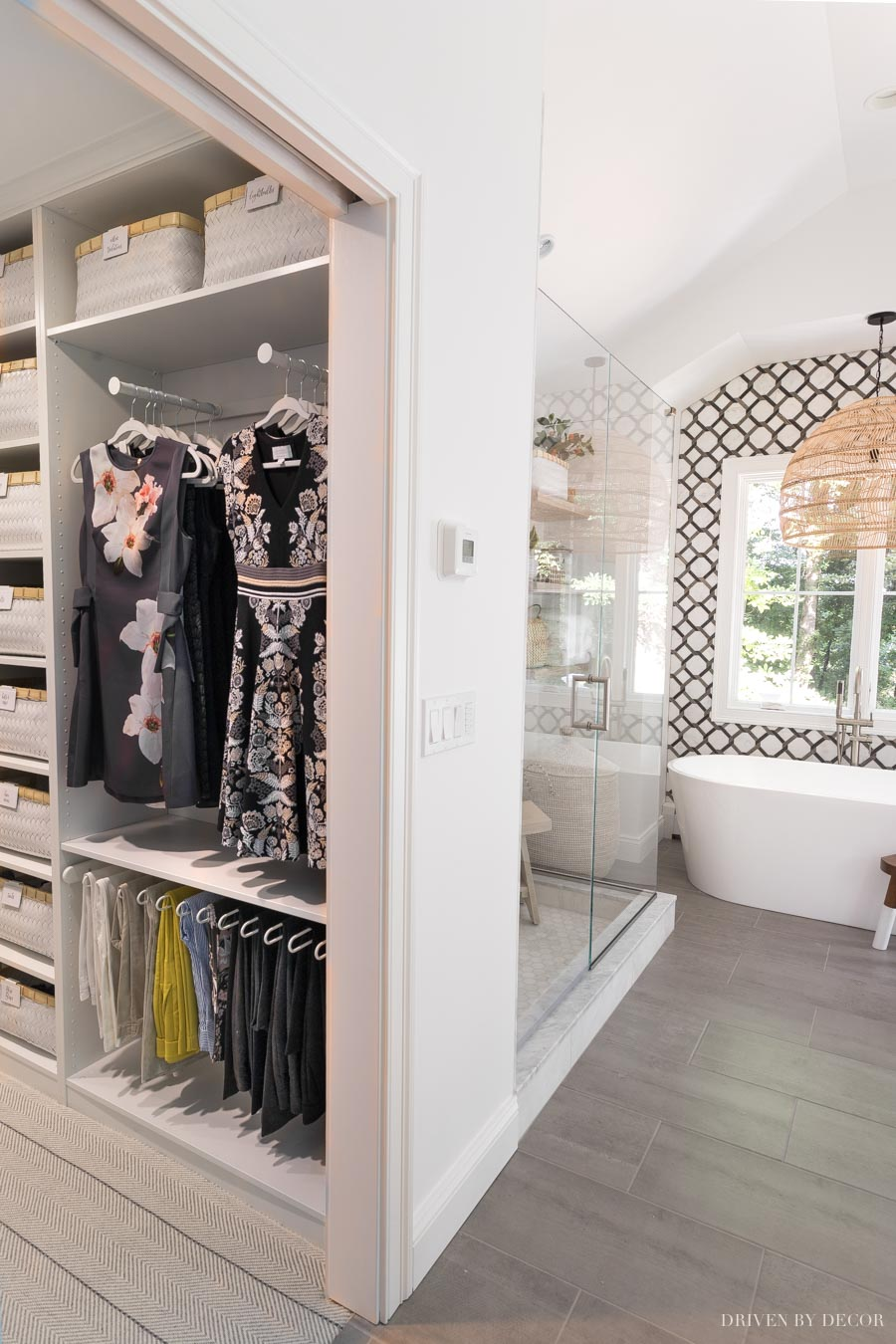 A Tour Of Our New Closet Ikea Pax Closet System Review Driven By Decor