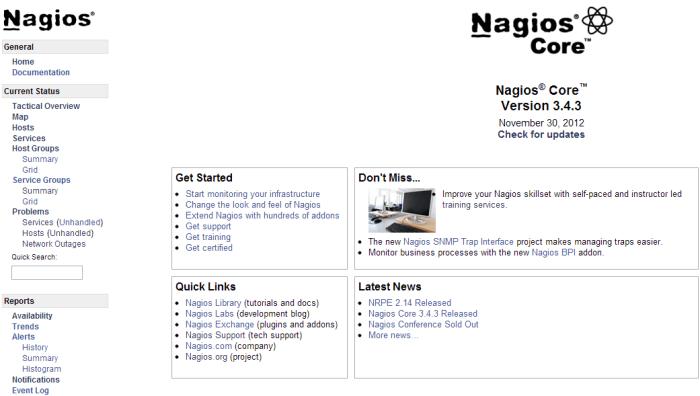 Nagios-index