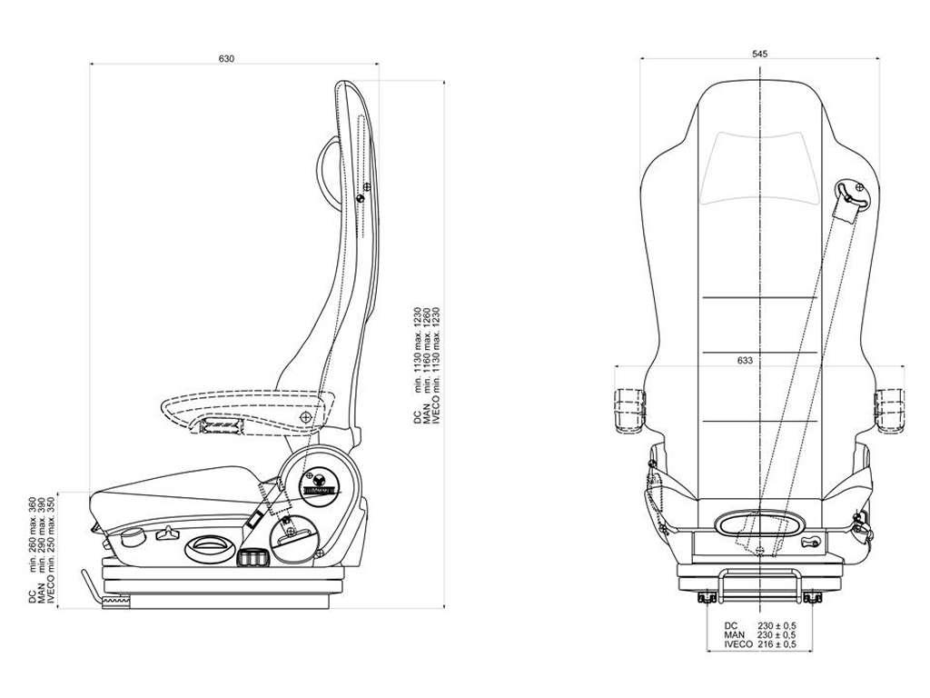 Grammer Truck Seats Msg90 6