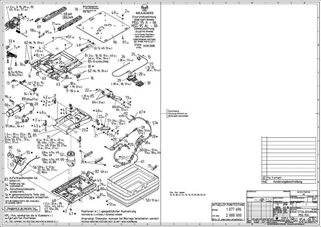 Kab Seating Parts Diagram | Wallseat co