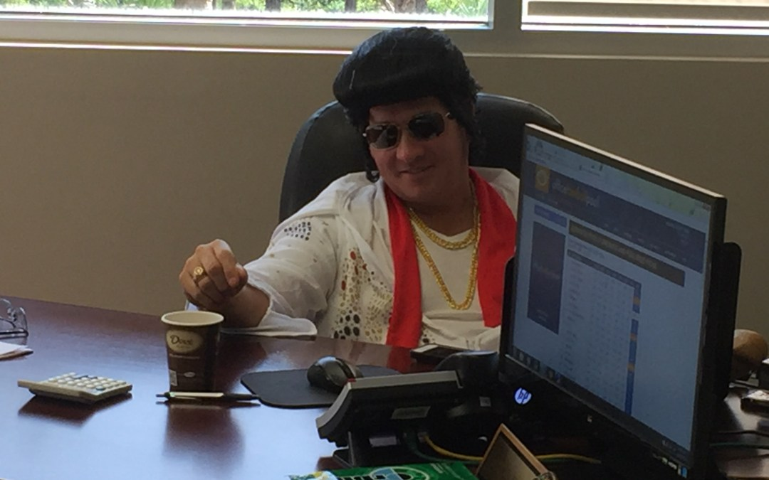 Mike Kroll Drivers Alert CEO Elvis Halloween